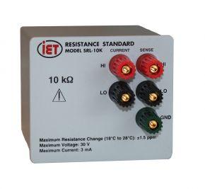 Стандарт прецизионного сопротивления SRL-10K
